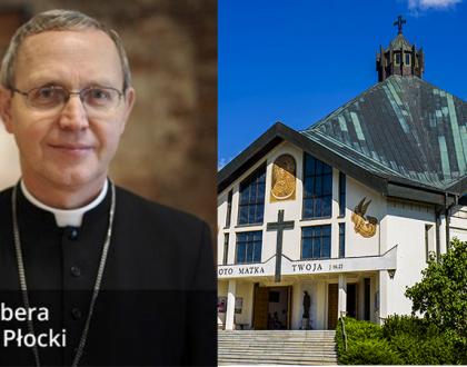 Zaproszenie Biskupa Płockiego na Niedzielę Palmową 2019 r